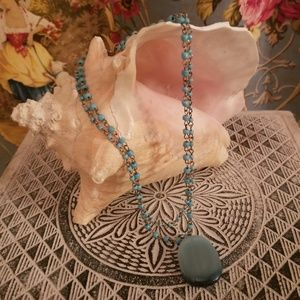 EXPRESS Pendant Necklace with double strand